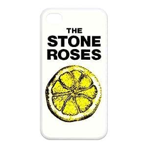 Britpop Rock Band The Stone Roses Hard Shell Case Cover iPhone 4 4S TPU Case Skin protector Fashion Style Kimberly Kurzendoerfer