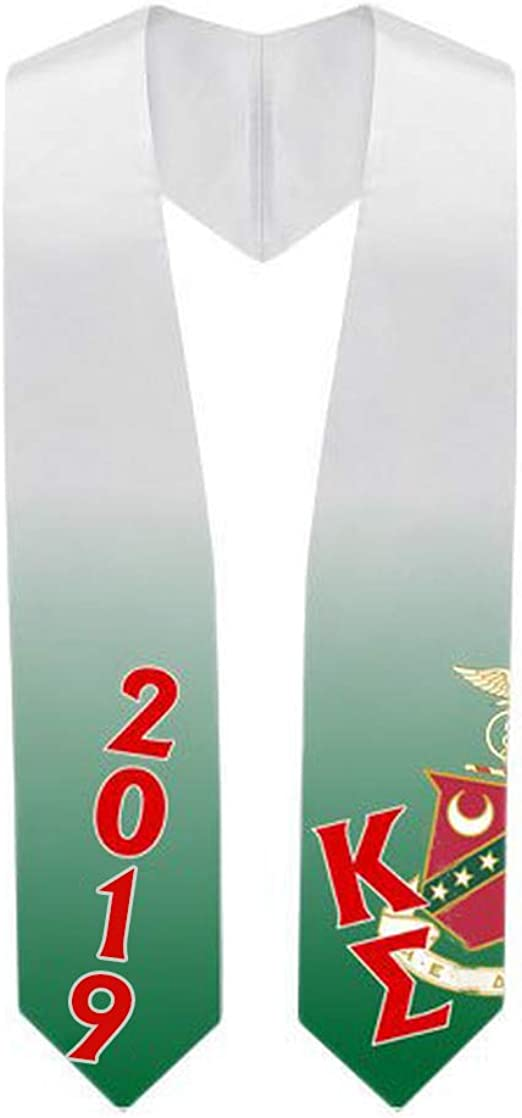 Custom Sigma Kappa Super Crest Shield Graduation Stole
