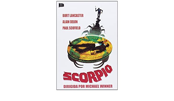 Scorpio [DVD]: Amazon.es: Burt Lancaster, Alain Delon, Paul Scofield, Michael Winner, Walter Mirisch: Cine y Series TV
