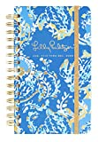 Lilly Pulitzer Medium 17 Month Hardcover Agenda, 8.25' x 5' Personal Planner with Monthly & Weekly Spreads for Aug. 2019 - Dec. 2020, Turtley Awesome
