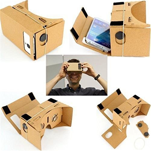Google Cardboard 3D VR Virtual Reality Headset Movie Games VR Glasses for Phones