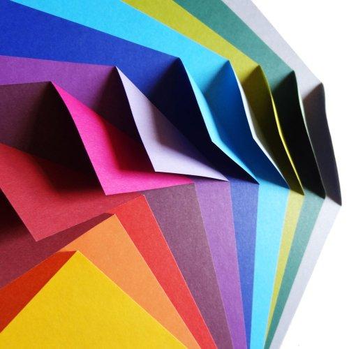 Origami-Papier, Komplementärfarben, 100 Bögen