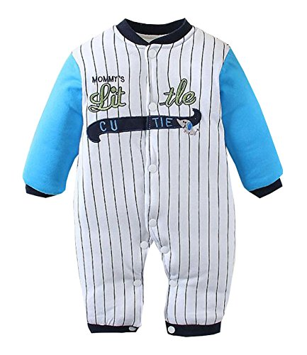 Winter-Baby Cotton Warm Body Outfit Baseball Kleidung Stil