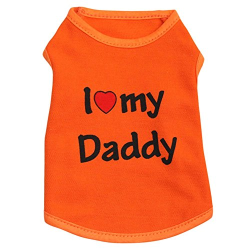51INJFlXLSL - PanDaDa Summer Small Pet Dog Apparel Vest Puppy Doggy Cat T-shirt