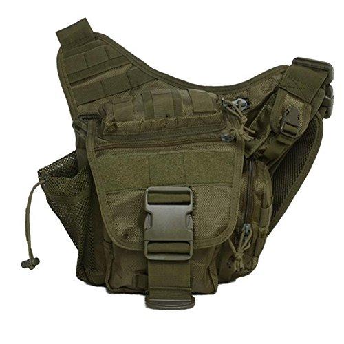 Waterproof 600D Oxford Waist Bag Tactical Molle EDC Outdoor Bag - 7