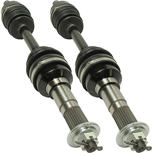 Big Axle (Caltric FRONT RIGHT and LEFT COMPLETE CV JOINT AXLE Fits YAMAHA BIG BEAR 400 YFM400F 4WD 2000 2001)
