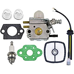 Echo Trimmer Carburetor - C1U-K29 C1U-K47 C1U-K52 SRM2100 SRM2110 SHC1700 SHC2100 with Repower Kit for Power Pruner Trimmer - Zama Carburetor Kit