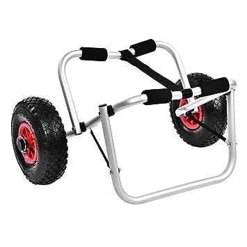 GOTOP Carrito de Kayak, de aleación de Aluminio, para Kayak, Canoa, Rueda