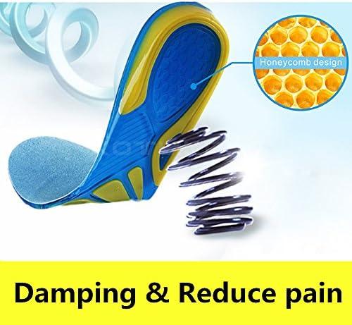 SOFIT Plantillas para Zapatos de Gel Amortiguadoras, Plantillas de Gel Masaje para Deportivas, Antibacterianas y Flexibles, de Silicona: Amazon.es: Zapatos y complementos