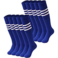 Tube Socks Stripe, saounisi Unisex Knee High Football...