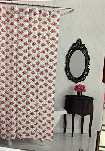 Betsey Johnson Shower Curtain Skull Diamond 72