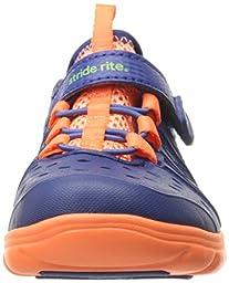 Stride Rite Made 2 Play Phibian Sneaker Sandal (Toddler/Little Kid), Navy, 4 M US Toddler