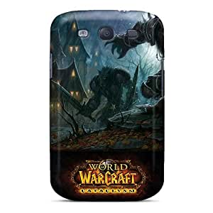 Fashion Protective World Of Warcraft Cataclysm Game Cases Covers For Galaxy S3 wangjiang maoyi