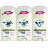 Tom's of Maine Women's Antiperspirant Deodorant Natural Powder - 2.25 Oz, Pack of