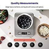 Etekcity Food Kitchen Scale, Digital Grams and