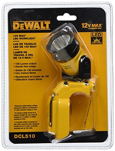 DEWALT DCL510 12 Volt Max Worklight