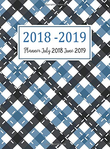 Download Planner July 2018 June 2019: Two Year - Daily Weekly Monthly Calendar Planner With Holiday  12 Months July 2018 to June 2019 For Academic Agenda ... Organizer, Agenda and Calendar) (Volume 9) pdf