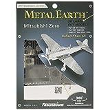 Mitsubishi Zero Fighter Metal Works 3D Laser Cut Model