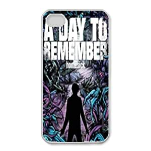 iphone4 4s Phone case White A Day To Remember ZAC1259227