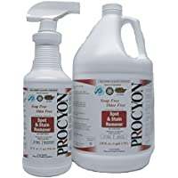 Procyon Spot and Stain Remover 1 Gallon Super Value Carpet Spot and Stain Cleaner - Eco-Friendly - Pet Friendly - Kid Friendly