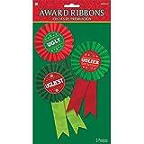 amscan Ugly Ribbon Awards, 3 Ct. | Christmas Supply