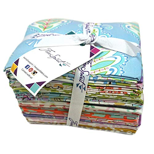 FreeSpirit Fabrics Mystery Fat Quarter 20 Piece Fabric, ()