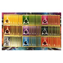 AVAILABLE! POKEMON TCG: 90 BASIC ENERGY CARDS LOT 10 OF EACH TYPE FAIRY METAL DARKNESS by Unbranded
