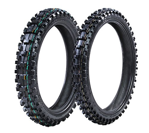 ProTrax Front 80/100-21 & Rear 110/100-18 Inch Tire Combo Soft to Intermediate - Tire Freeride
