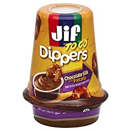 Jif To Go Chocolate Silk with Pretzels, 1.69 Ounce (Pack of 8)