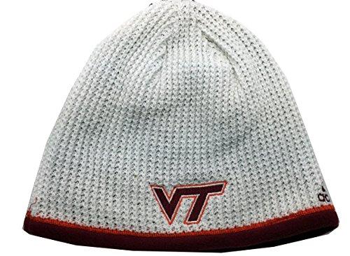 NCAA Virginia Tech Cuffless Knit Beanie Cap -  Adidas, 44672212121