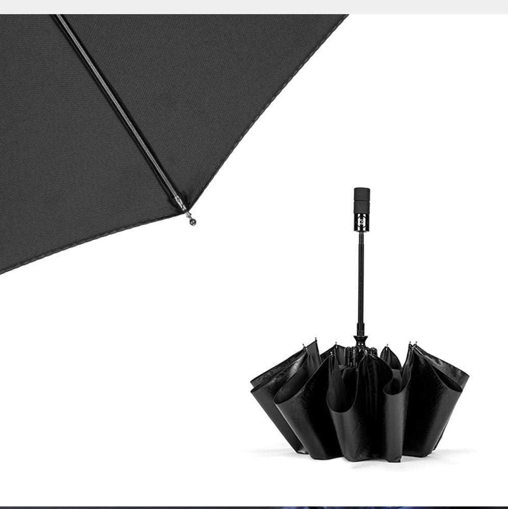 TtKj Folding Umbrella Full Automatic Ten Bone Double Folding Sunshade one Button Shrinking Large Umbrella