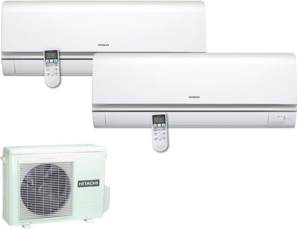 ras10qha Climatiseur fixe Hitachi ram18qh2/a + Capacit/é de refroidissement 9000/+ 12000/BTU//h refroidissement /à ras14qha chauffage /à
