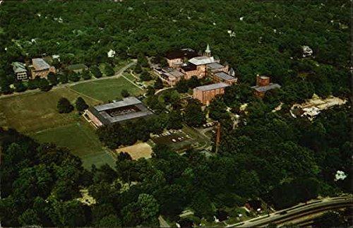 Aerial View of Converse College Spartanburg, South Carolina Original Vintage (50s Converse)
