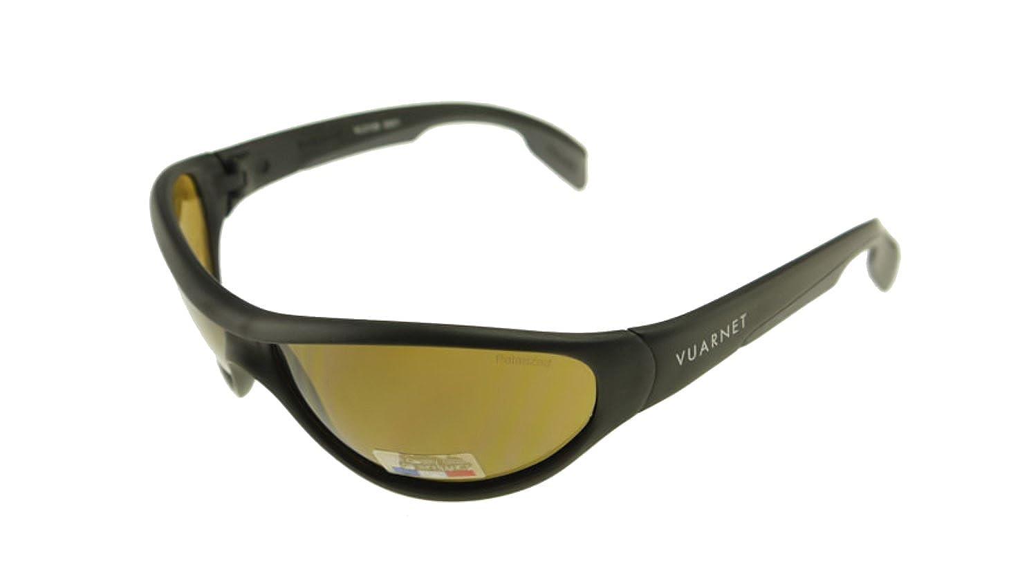 b23b5ce7f2 Amazon.com  Vuarnet Matte Black   Polarized Brown PC 2000 Sunglasses VL  0109 0001  Clothing