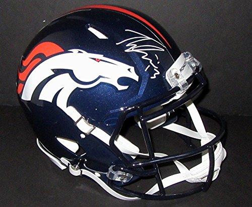 Trevor Siemian Autographed Signed Denver Broncos Pro Authentic Speed Helmet Psa Rookiegraph (Broncos Autographed Pro Helmet Denver)