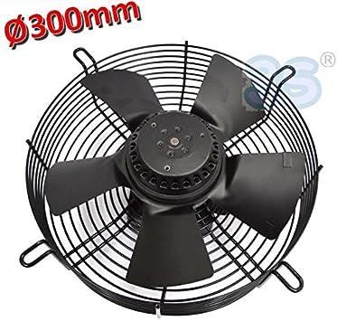 Ventilador Axial Campana diámetro 300 mm 90 W 220 V – Con Motor Y ...