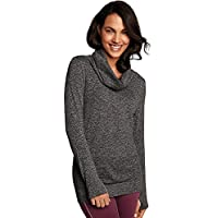 Maidenform Women's Sport Base Layer Seamless Cowl Neck Top (several colors)