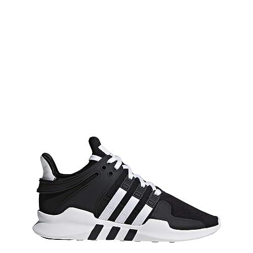 30a6dd4c69a adidas Kids Unisex Originals EQT Support ADV Shoes CORE Black (AQ1758) (3.5  Big