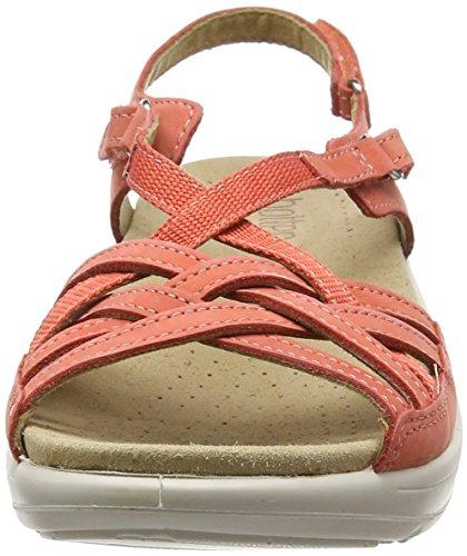 Hotter Sandales 087 Rose Ouvert Bout Coral Femme Maisie rr8qO6S