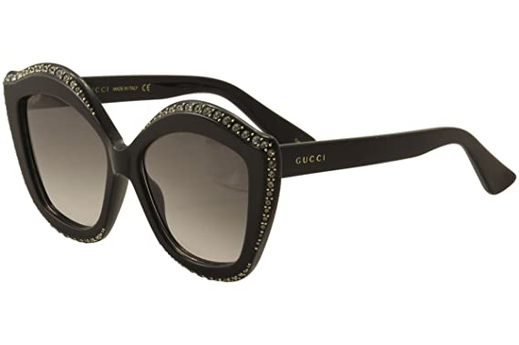 bfb24c46c Image Unavailable. Image not available for. Color  Sunglasses Gucci GG 0118  S- 001 BLACK GREY