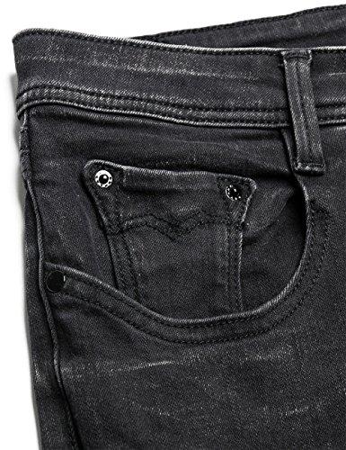 Donna black Nero Da 7 Jeans Replay Denim Jodey schwarz wqxa67a