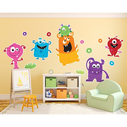 BirthdayExpress Aliens and Monsters Room Decor - Giant