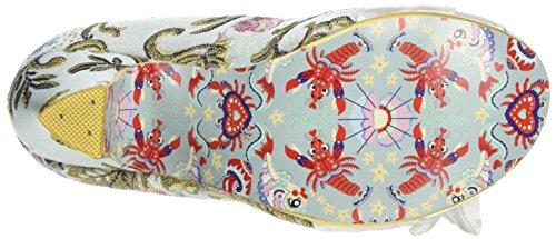 Irregular Choice 4255-19, Zapatos de Tacón Mujer Multicolor (Pale Blue)