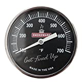 SmokeWare Temperature Gauge (Black- 3 inch Face) for BGE
