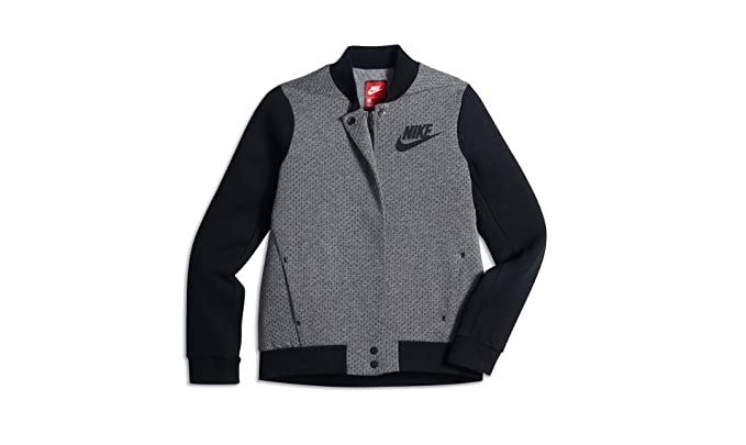 39af8ed230c2 Amazon.com  Nike Sportswear Tech Fleece Destroyer Big Kids  (Girls ...