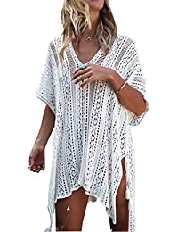 Beach Swimsuit for Women Sleeve Coverups Bikini Cover up Net