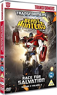 Transformers Prime Season 3 Beast Hunters - Race for Salvation [DVD]