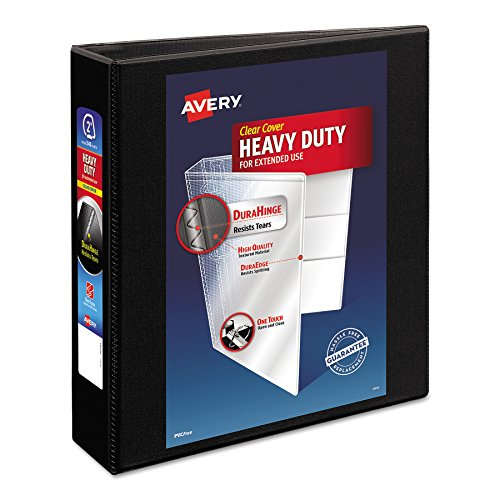 - Avery Heavy-Duty Nonstick View Binder, 2