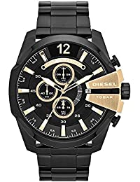 Men's DZ4338 Mega Chief Black Ip Watch