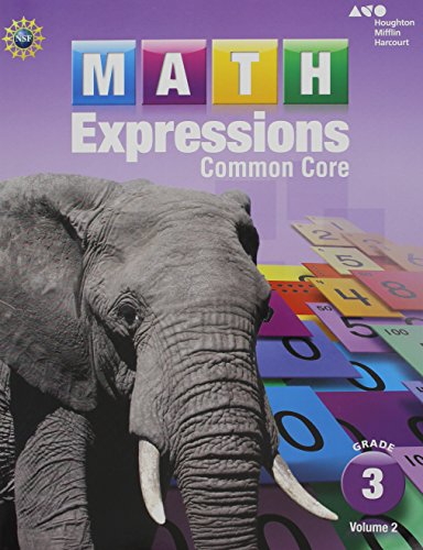Math Expressions: Student Activity Book, Volume 2 (Softcover) Grade 3